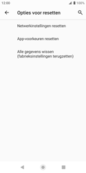 Sony xperia-xz2-compact-h8314-android-pie - Resetten - Fabrieksinstellingen terugzetten - Stap 7