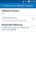 Samsung Galaxy J1 (SM-J100H) - WiFi - Mobiele hotspot instellen - Stap 6