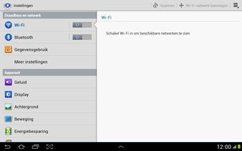 Samsung N8000 Galaxy Note 10-1 - WiFi - Handmatig instellen - Stap 5