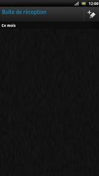 Sony LT22i Xperia P - E-mail - Envoi d