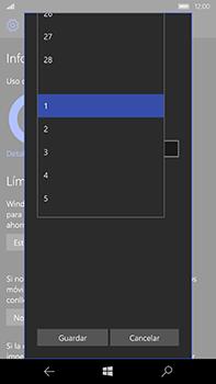 Microsoft Lumia 950 XL - Internet - Ver uso de datos - Paso 10
