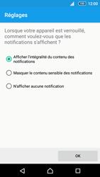 Sony Xperia Z5 - Sécuriser votre mobile - Activer le code de verrouillage - Étape 11