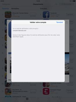 Apple iPad Pro (9.7) - Applications - Télécharger des applications - Étape 21