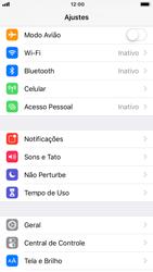 Apple iPhone 6 - iOS 12 - Wi-Fi - Como usar seu aparelho como um roteador de rede wi-fi - Etapa 3