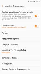 Samsung Galaxy A5 (2017) (A520) - Mensajería - Configurar el equipo para mensajes de texto - Paso 6