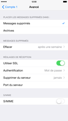 Apple iPhone 6 Plus iOS 8 - E-mail - Configuration manuelle - Étape 22