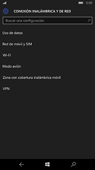Microsoft Lumia 950 XL - Red - Seleccionar una red - Paso 5