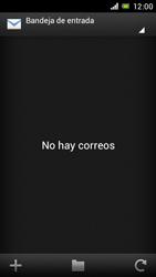 Sony Xperia J - E-mail - Configurar correo electrónico - Paso 4