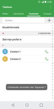 LG G6 (LG-H870) - Contacten en data - Contacten overzetten via Bluetooth - Stap 12