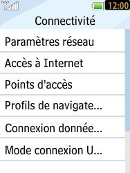 LG T385 - Internet et connexion - Désactiver la connexion Internet - Étape 5