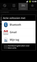 Google Nexus S - Contactgegevens overzetten - delen via Bluetooth - Stap 6