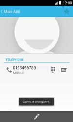 Bouygues Telecom Bs 403 - Contact, Appels, SMS/MMS - Ajouter un contact - Étape 8