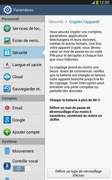 Samsung Galaxy Tab 3 8 4G - Sécuriser votre mobile - Activer le code de verrouillage - Étape 6
