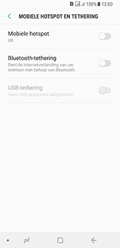 Samsung galaxy-a8-2018-sm-a530f-android-oreo - WiFi - Mobiele hotspot instellen - Stap 6