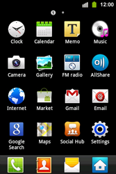 Samsung S5830i Galaxy Ace i - Internet - Enable or disable - Step 3