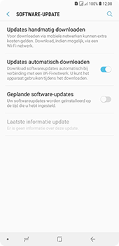 Samsung Galaxy A9 - Software update - update installeren zonder PC - Stap 5