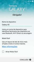 Samsung Galaxy A5 - Primeiros passos - Como ativar seu aparelho - Etapa 19