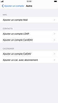 Apple iPhone 8 Plus - iOS 13 - E-mail - Configuration manuelle - Étape 6