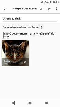 Sony Xperia XA2 Ultra - E-mails - Envoyer un e-mail - Étape 14