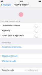 Apple iPhone 8 - Sécuriser votre mobile - Activer le code de verrouillage - Étape 8