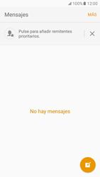 Samsung Galaxy S7 - Mensajería - Configurar el equipo para mensajes de texto - Paso 4