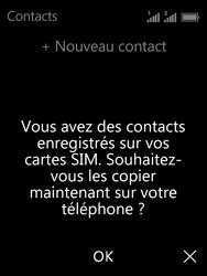 Nokia 3310 - Contact, Appels, SMS/MMS - Ajouter un contact - Étape 4
