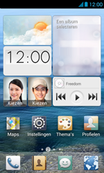 Huawei Ascend Y300 - Applicaties - Account aanmaken - Stap 1