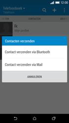HTC Desire 610 - Contactgegevens overzetten - delen via Bluetooth - Stap 9