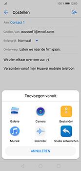 Huawei P20 Lite - E-mail - e-mail versturen - Stap 9