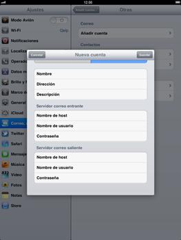 Apple iPad 2 - E-mail - Configurar correo electrónico - Paso 13