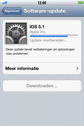 Apple iPhone 4S - Software update - update installeren zonder PC - Stap 8
