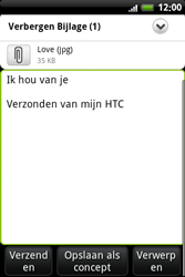 HTC A6363 Legend - E-mail - Hoe te versturen - Stap 13
