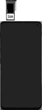 Samsung Galaxy S10e - Toestel - simkaart plaatsen - Stap 5