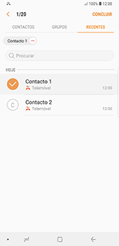Samsung Galaxy Note 8 - Android Oreo - Chamadas - Como bloquear chamadas de um número -  10