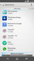 Sony Xperia Z2 - Applications - Supprimer une application - Étape 5