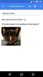 Sony Xperia XA1 - E-mail - Escribir y enviar un correo electrónico - Paso 16