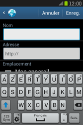 Samsung S6310 Galaxy Young - Internet - navigation sur Internet - Étape 7