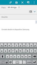 Samsung Galaxy A3 - E-mail - Escribir y enviar un correo electrónico - Paso 8