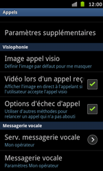 Samsung I9070 Galaxy S Advance - Messagerie vocale - configuration manuelle - Étape 6