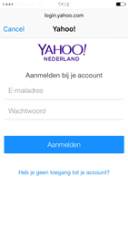 Apple iPhone 5s iOS 9 - E-mail - handmatig instellen (yahoo) - Stap 6