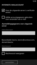 HTC Windows Phone 8X - E-mail - handmatig instellen - Stap 14