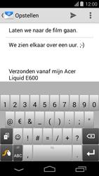 Acer Liquid E600 - E-mail - Hoe te versturen - Stap 9