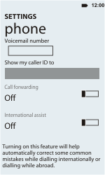 HTC C110e Radar - Voicemail - Manual configuration - Step 6