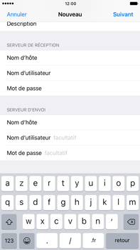 Apple Apple iPhone 6 Plus iOS 10 - E-mail - Configuration manuelle - Étape 15