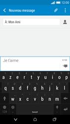 HTC Desire 610 - Contact, Appels, SMS/MMS - Envoyer un SMS - Étape 10