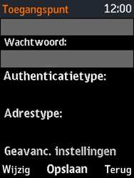 Nokia 3310 - Internet - Handmatig instellen - Stap 12