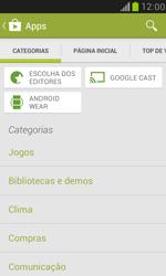 Samsung I8190 Galaxy S III Mini - Aplicativos - Como baixar aplicativos - Etapa 6