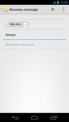 Samsung I9250 Galaxy Nexus - E-mail - Envoi d