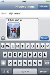 Apple iPhone 4 - MMS - hoe te versturen - Stap 11