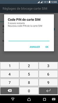 Sony Xperia L1 - Sécuriser votre mobile - Personnaliser le code PIN de votre carte SIM - Étape 9